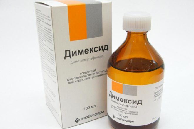 Применение Димексида от кашля