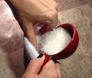 Прогревания солью при кашле