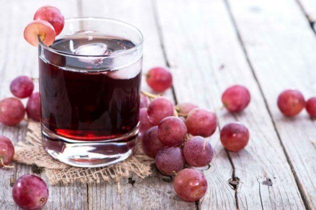 Сок винограда с медом