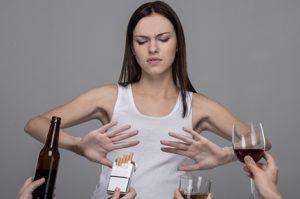 Стоит избавиться от пагубных привычек для профилактики ОРВИ