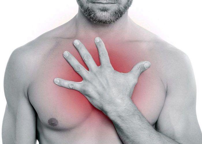 В груди дискомфортное состоянии