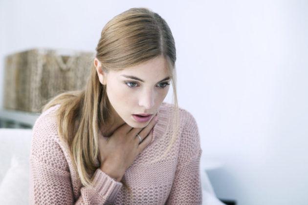Затруднение дыхания при передозировке
