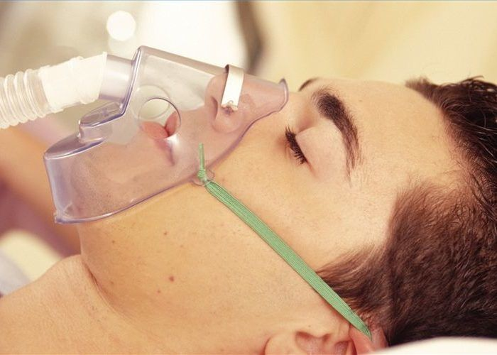 Избыточная подача кислорода