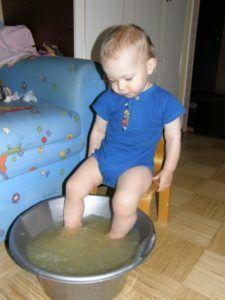 Горчичные ванны для ног при кашле