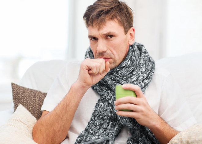 Надрывный кашель