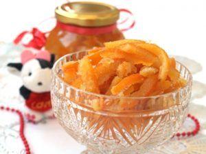 Конфеты из шкурок мандарин для лечения сухого кашля
