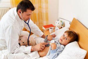 Лечение ребенка в условиях стационара происходит при ухудшении самочувствия