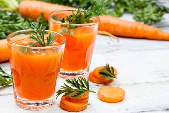 Морковь от кашля