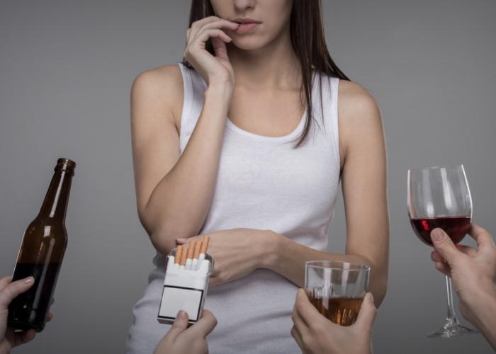 Необходимо избавиться от вредных привычек,