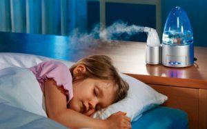 Необходимо пользоваться увлажнителями воздуха для профилактики зуда в легких