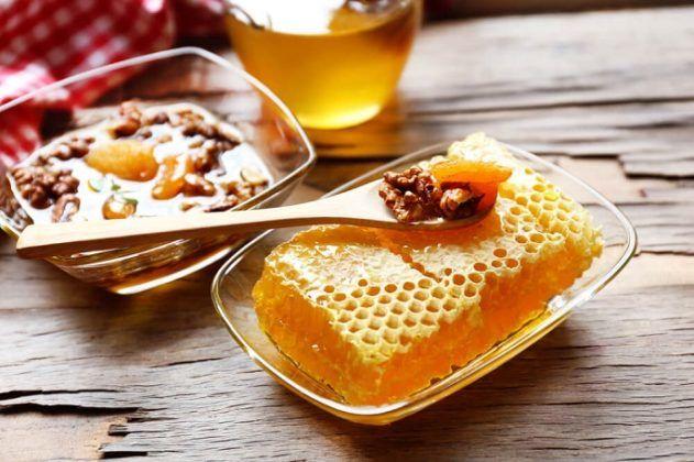 Орехово-медовая смесь при кашле
