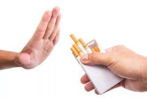 Отказаться от вредных привычек для профилактики бронхита