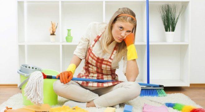 При уборке дома может возникнуть зуд легком