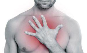 Таблетки снимают боль в грудной клетке