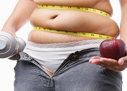 Высокая степень ожирения