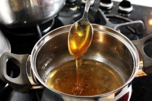 Жженый сахар с водкой от кашля