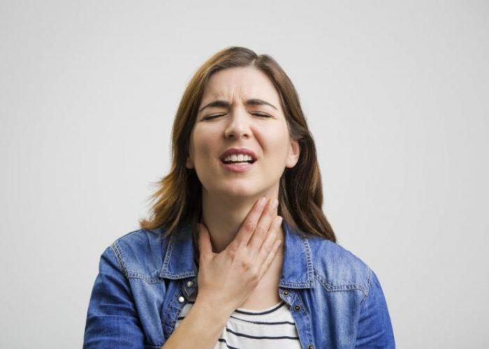 Чувство постоянного раздражения в горле