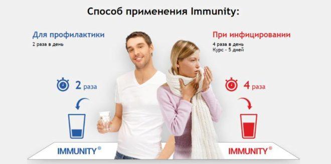 Immunity противопоказания