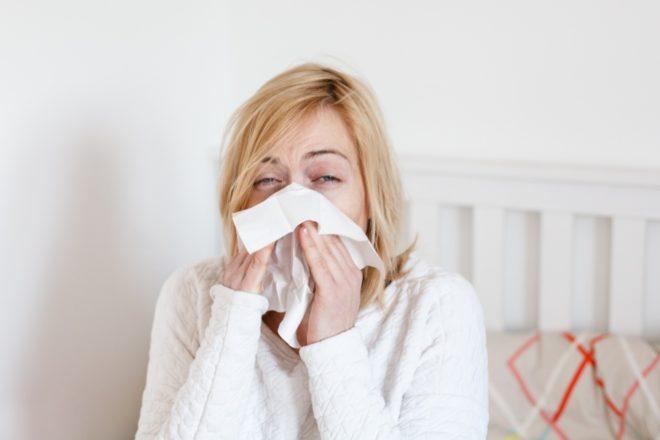 Ангина и сухой кашель