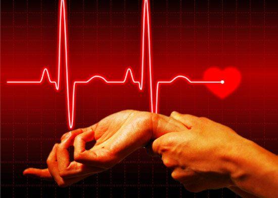 Повысить частоту сокращений сердца