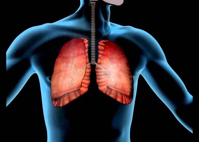 При болезнях нижних дыхательных путей
