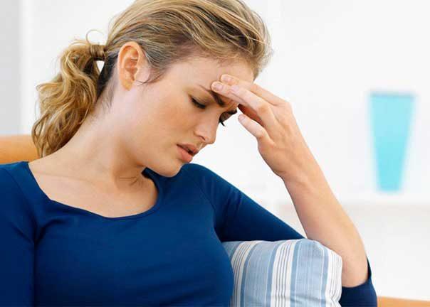 Сильное головокружение и головная боль