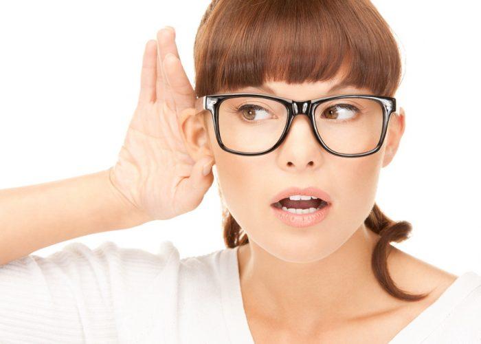 Ухудшение зрения и слуха