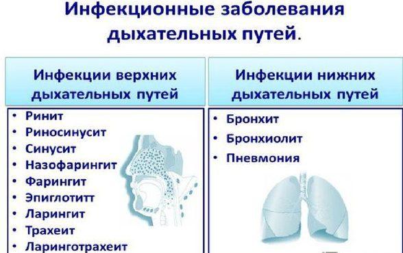 Заболевания дыхательных путей
