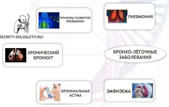 Бронхологические заболевания