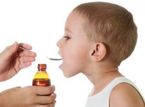 Дозировка сиропа для детей