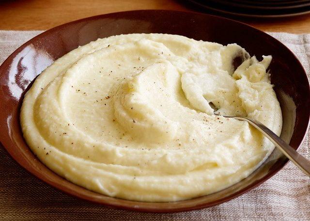Картофельное пюре на обед