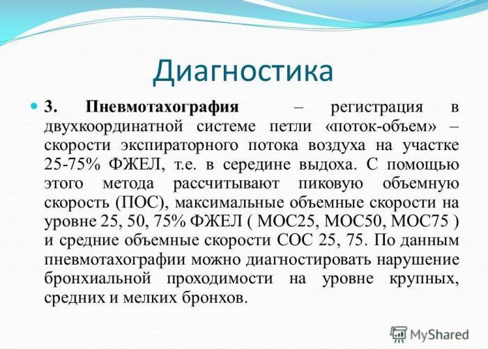 Пневмотахография