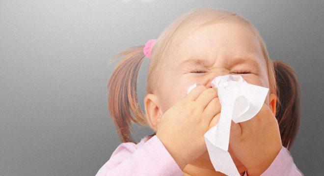 Проявления аллергии у детей