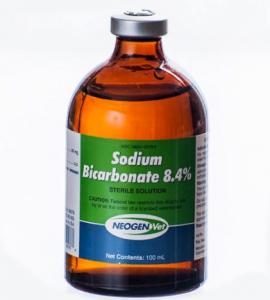 Раствор sodium hydrocarbonate
