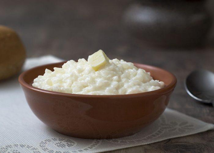Рисовая каша на завтрак