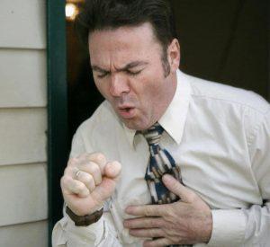 Симптомы коричневой мокроты