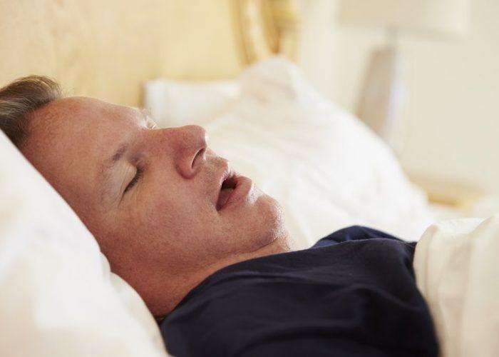 Возникновения внезапной остановки дыхания во сне
