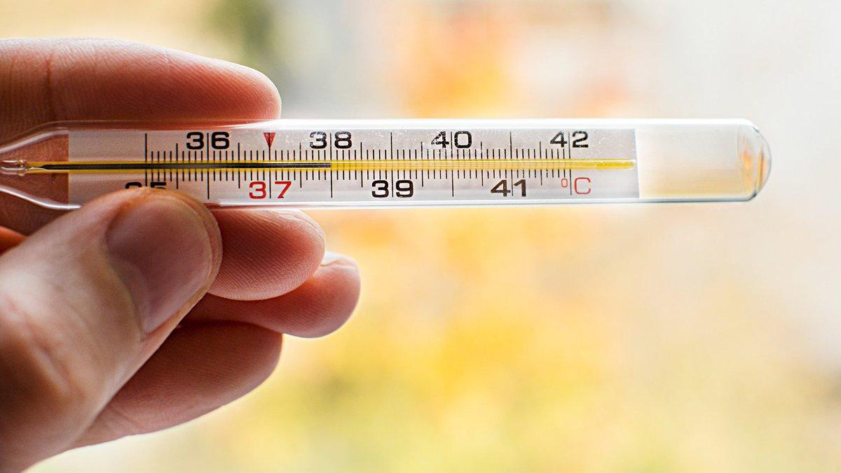Изменения температуры