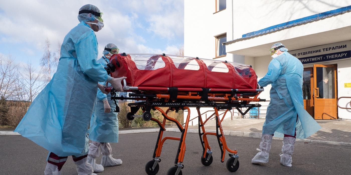 госпитализация при коронавирусе